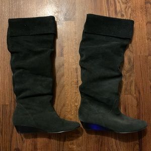 Shoes - Slouchy Black Boots